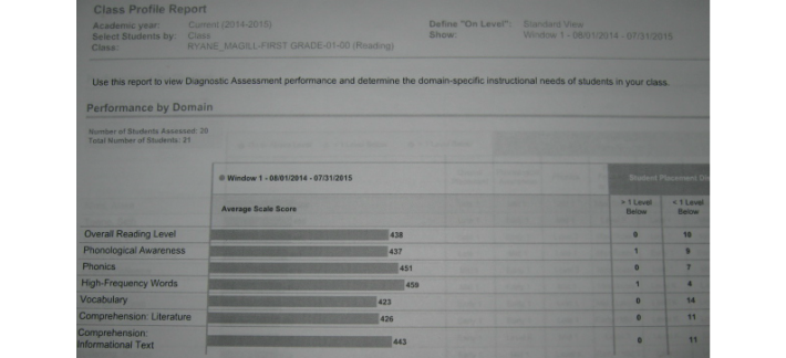 c  Uses a variety of assessment tools to monitor student progress